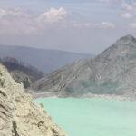 voyage à Java volcan Kawa Ijen lac acide