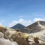 voyage à Bali Java Kawa Ijen porteurs de soufre lac acide