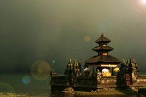 Pura ulan danau Bali