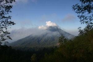 voyage à Bali Java vue depuis le volcan kawa Ijen
