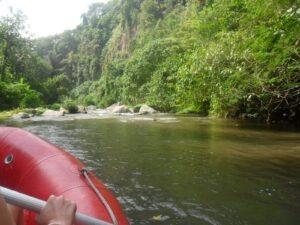 Rafting à Bali sur la rivière Ayung