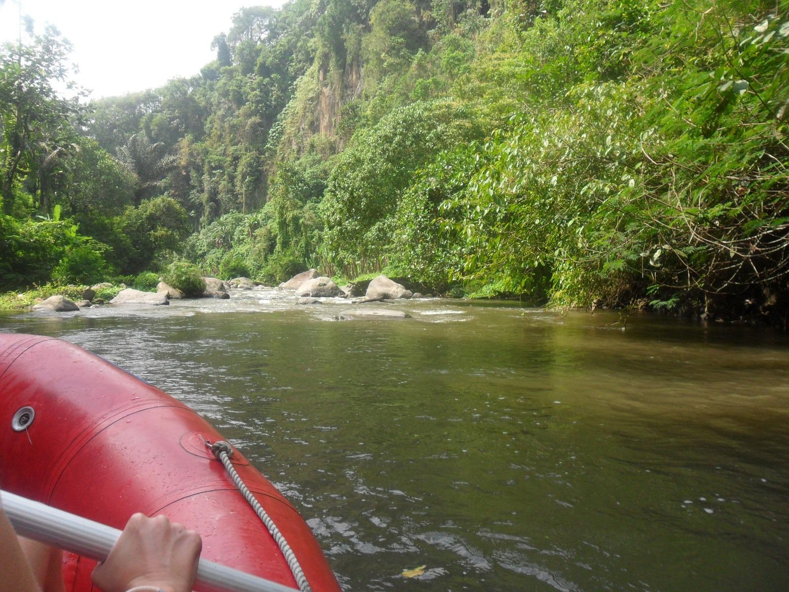 Rafting à Bali