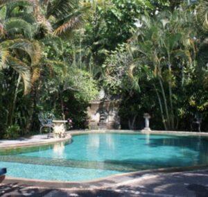 piscine à Bali dans un hôtel de charme