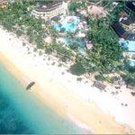 Vue aérienne hôtel grand luxe Bali