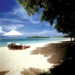 Plage hôtel grand luxe Bali