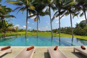 hôtel de luxe à Ubud avec Lune de Miel Bali