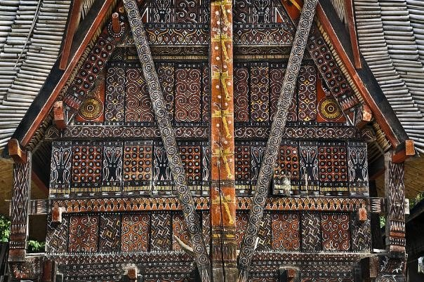 Tengkonan maison traditionnelle toraja