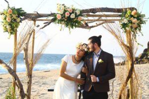 Mariage romantique à Bali