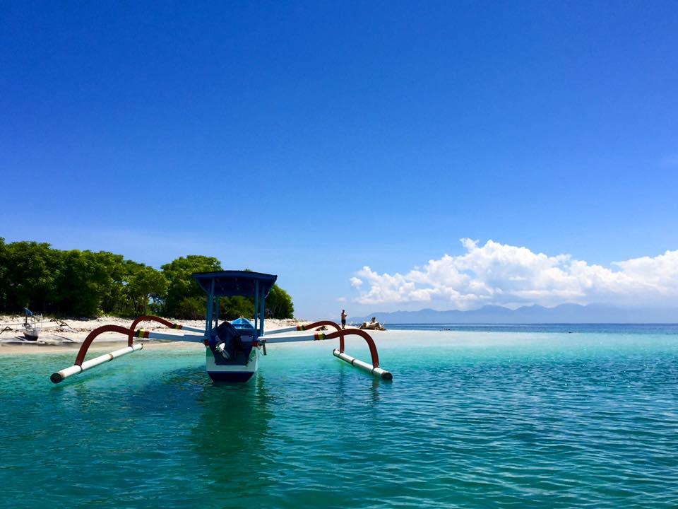 bateau de pêche traditonnel, bali, indonésie