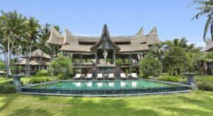 hôtel à l'architecture authentique à Bali