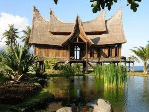 hôtel à l'architecture traditionnelle