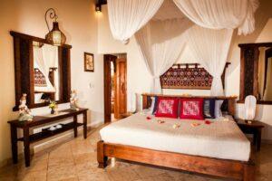 chambre d'hôtel typique de Bali