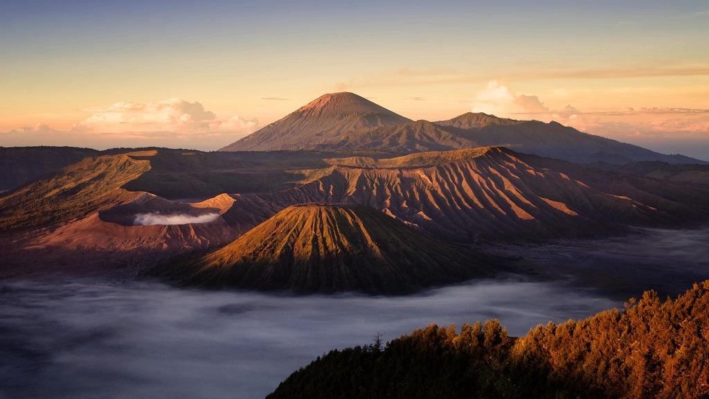 Bromo volcan Indonesie
