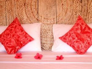 décoration d'un lit double