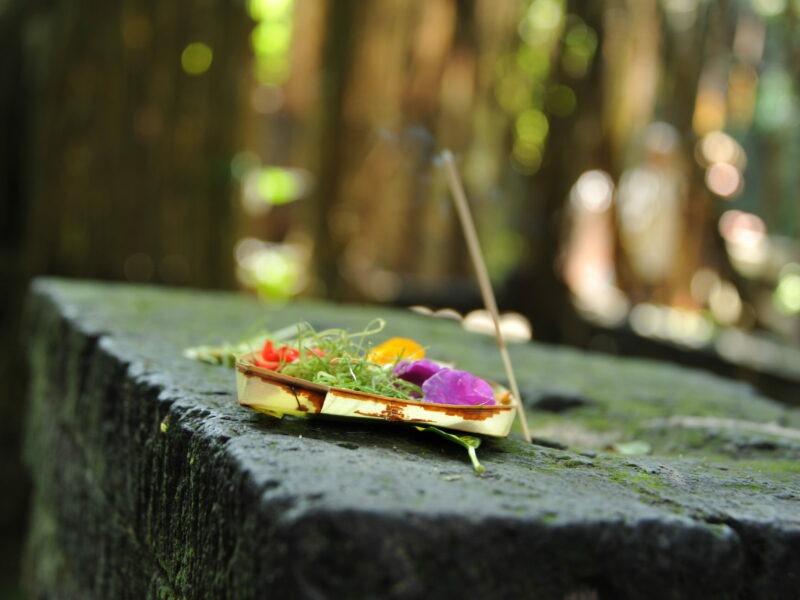 offrandes à Bali