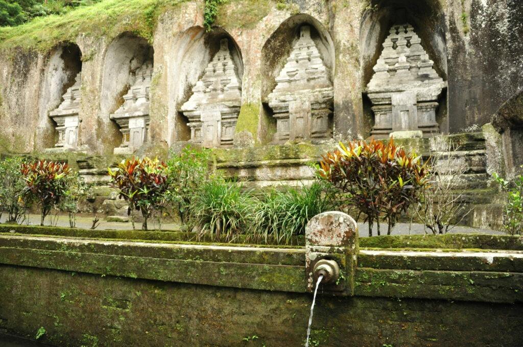 Temple deGunung Kawi, Bali, Indonésie