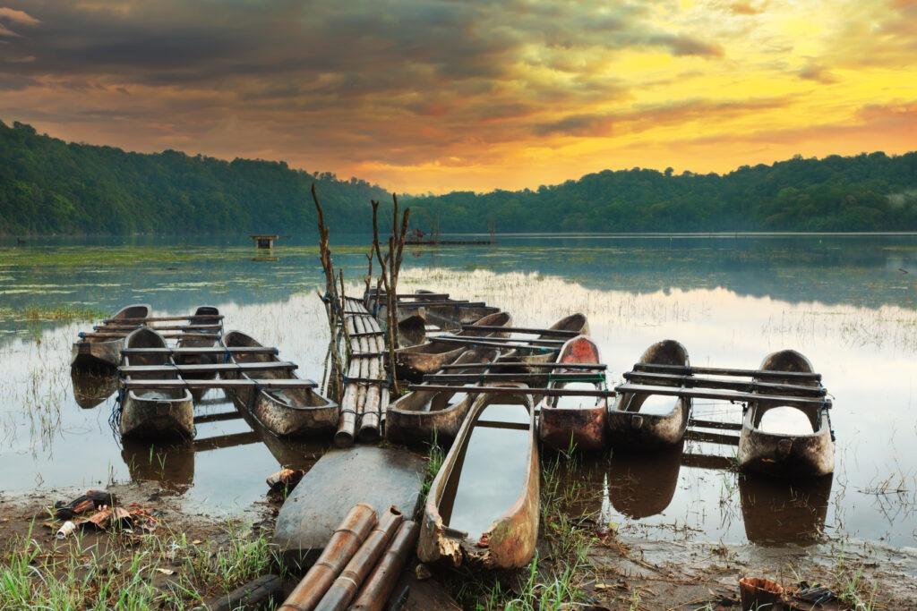 Lac deTamblingan, Bali, Indonésie