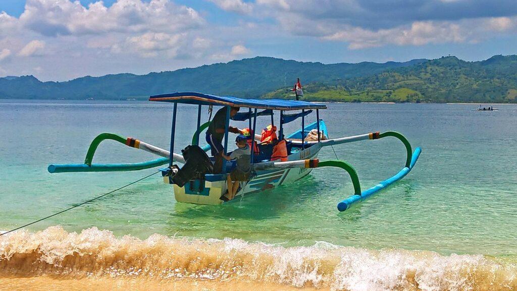 pêcheurs, Lombok