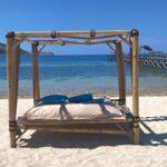 endroit pour se relaxer sur la plage