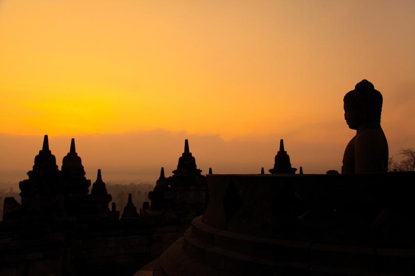 Borobudur budha