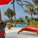villa avec piscine vue sur mer