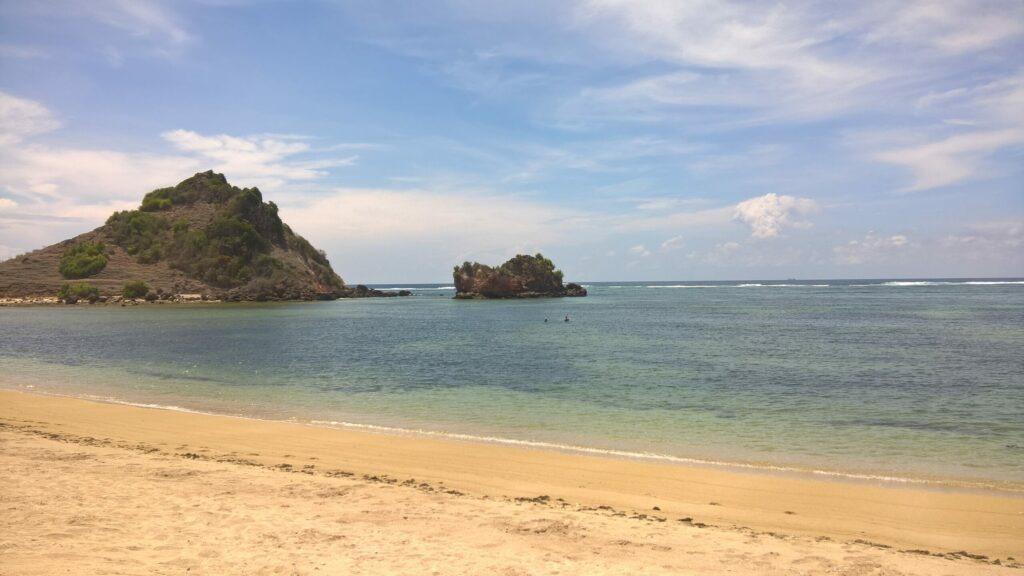 plage, Lombok, Indonésie