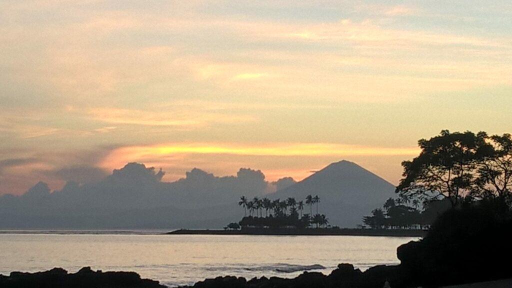 coucher de soleil, Lombok