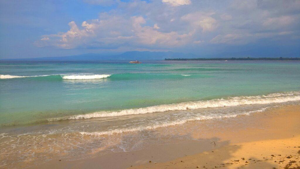 mer, Gili, Indonésie