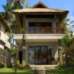 bungalow face à la mer