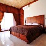 chambre d'hôtel avec lit double