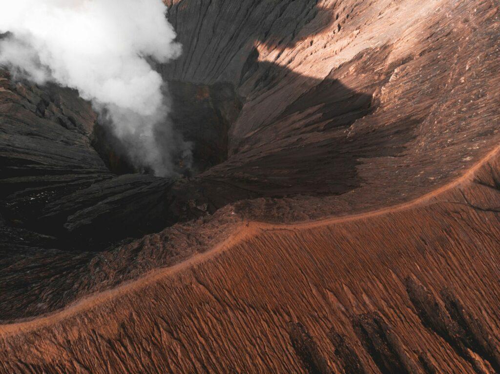 cratère Bromo, volcan, Java, Indonésie