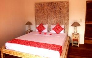 lit double dans un style balinais