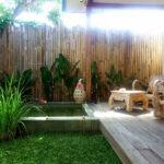 petite piscine tropicale privative
