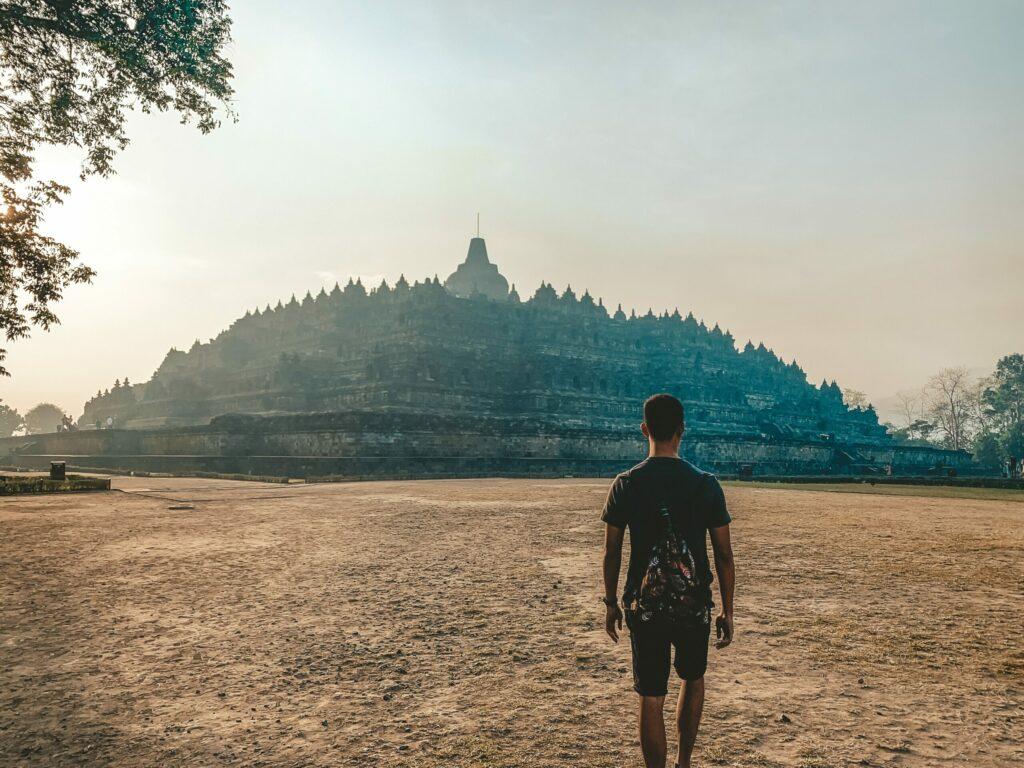 borobudur temple, Java, Indonésie