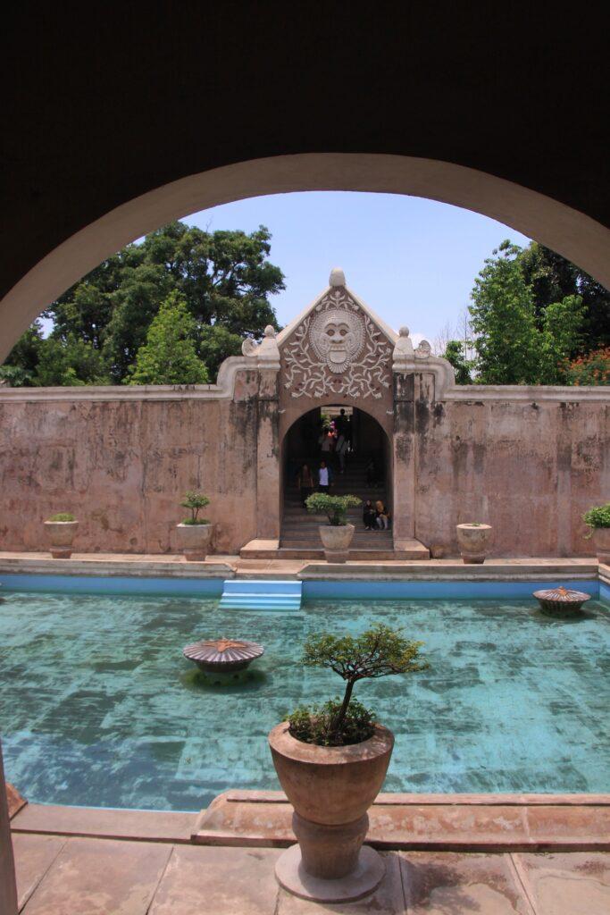 yogyakarta, Taman sari, Indonésie