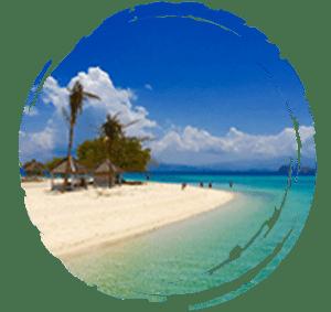 plage de l'archipel de Komodo