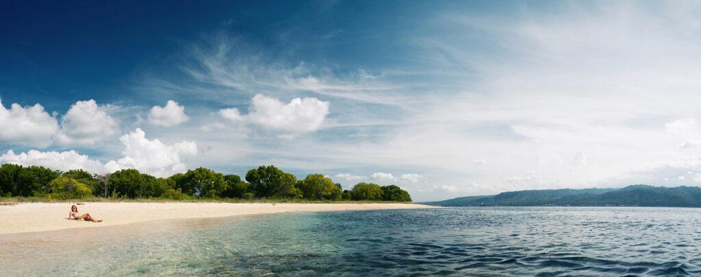 plage, gili, Lombok