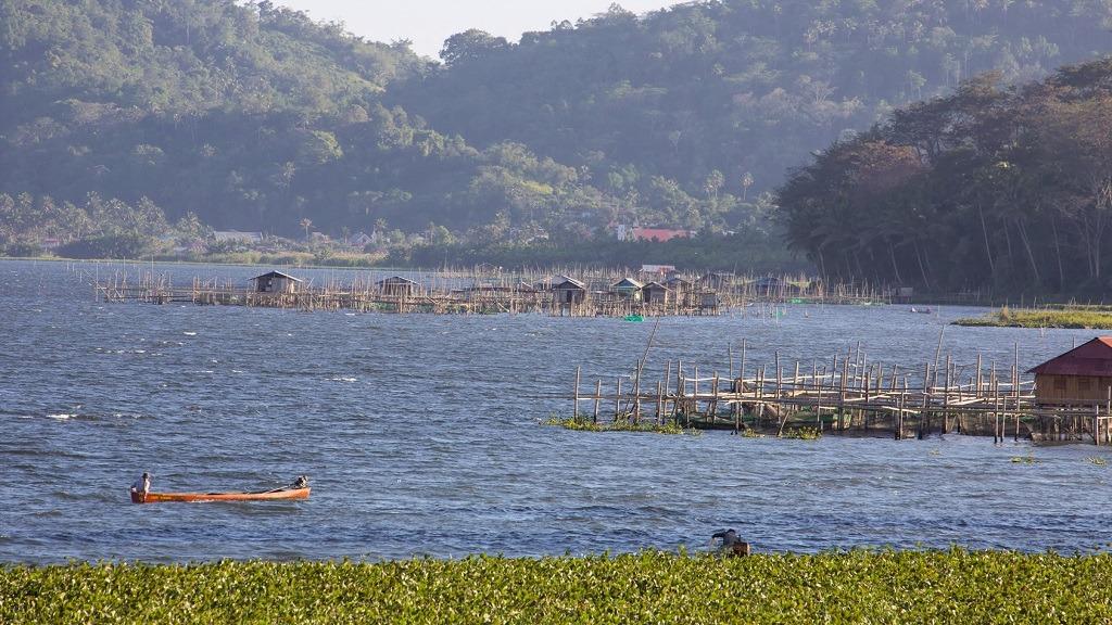 Lake Tondano, Sulawesi, Indonesie