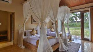 chambre d'hôtel lits simples